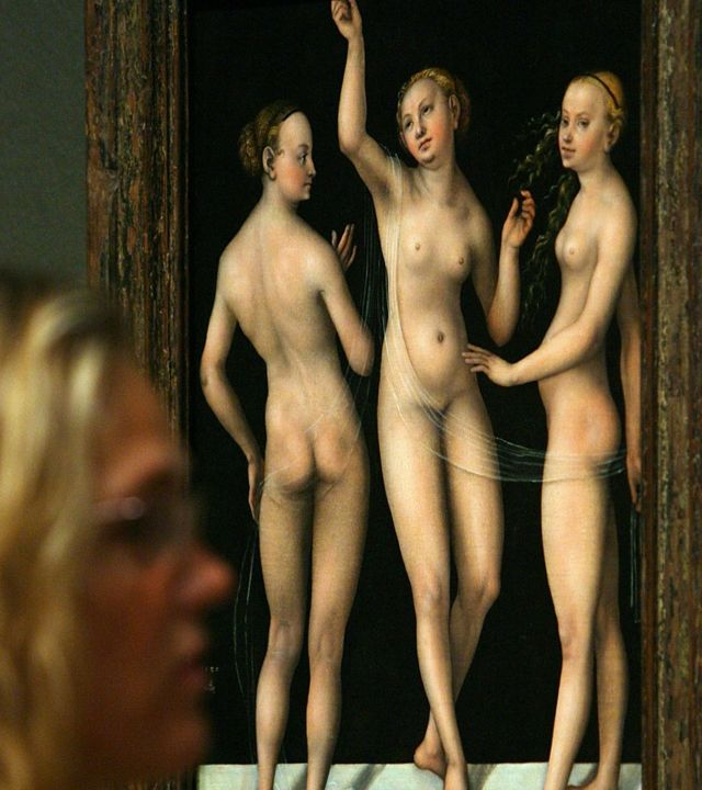Картина з оголеними жінками