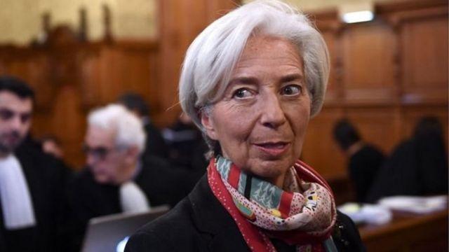 अंतरराष्ट्रीय मुद्रा कोष की प्रमुख क्रिस्टीन लगार्ड