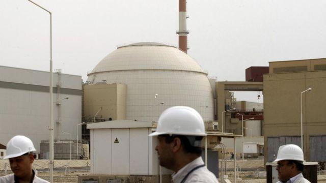 مفاعل بوشهر الإيراني