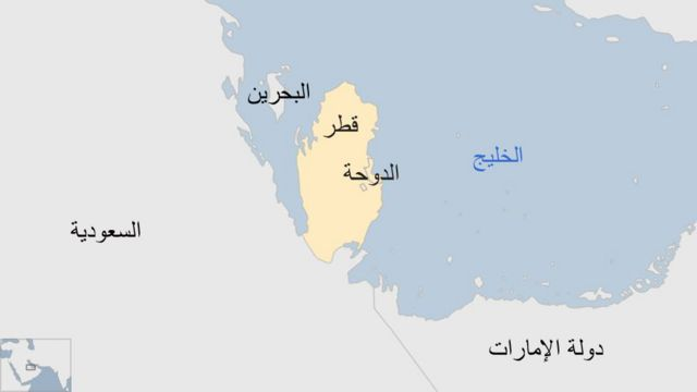 خارطة قطر