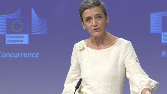 Европейский комиссар по конкуренции Маргрет Вестагер