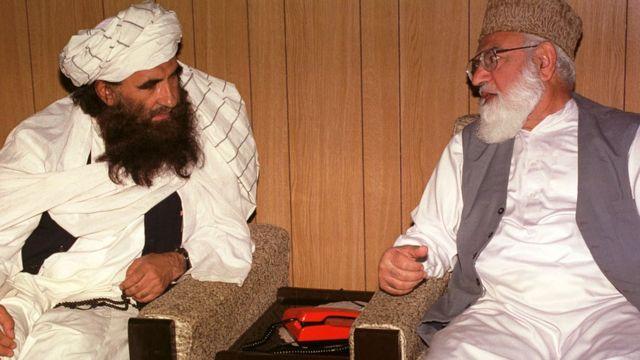 قاضی حسین احمد، جلال الدین حقانی