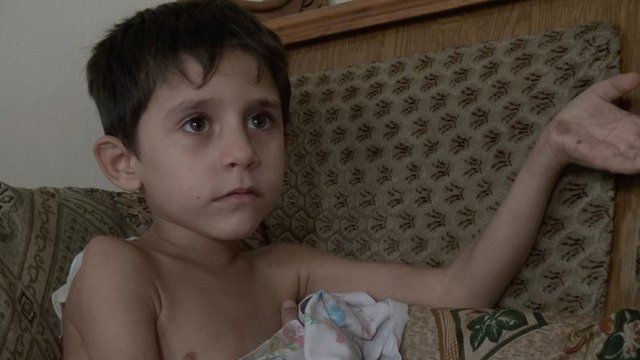 Boy in Aleppo