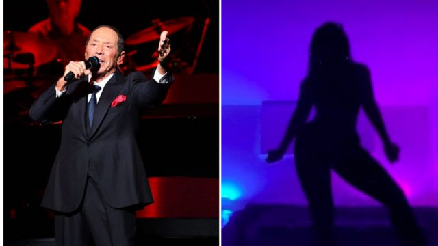 Silhouette Challenge videos: Who be Paul Anka, di man