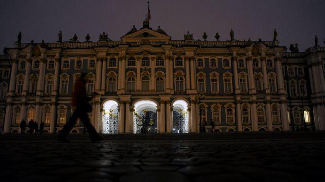 Bảo tàng Hermitage nổi tiếng của Saint Petersburg