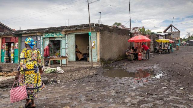 La population de Goma est passée à plus d'un million d'habitants.