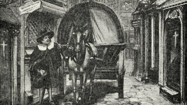 Ilustración del Londres antiguo
