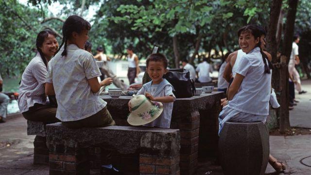 porodica u Kini 1978.