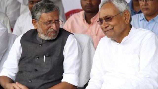 सुशील कुमार मोदी और नीतीश