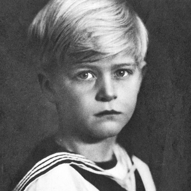 Prince Philip, as a child.