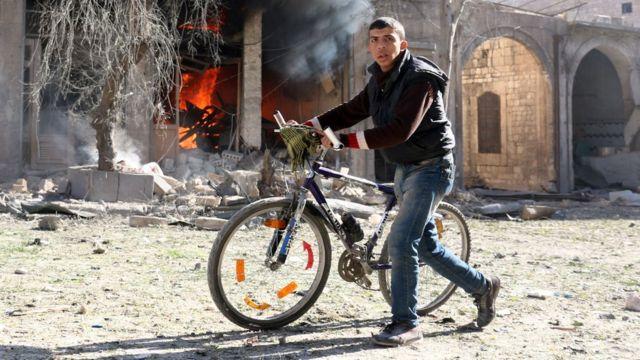Syria, Aleppo, war