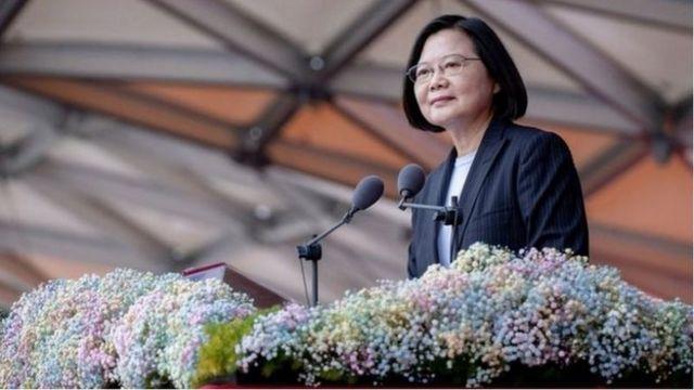 蔡英文的對美政策和兩岸政策遭到批評(Credit: PRESIDENT OFFICE, TAIWAN)