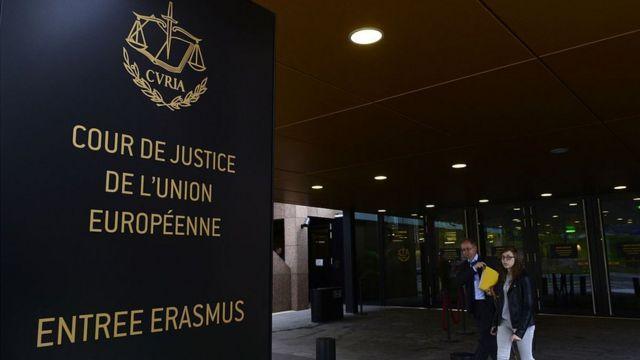 Evropski sud pravde u Luksemburgu