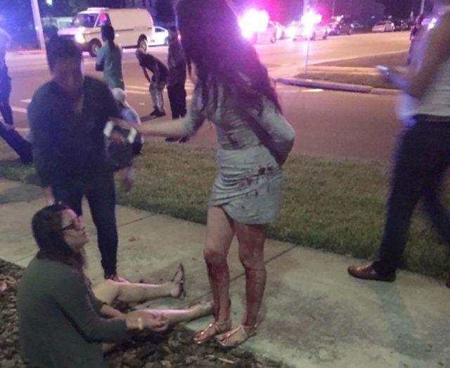 """""""Várias"""" pessoas ficaram feridas, diz polícia"""