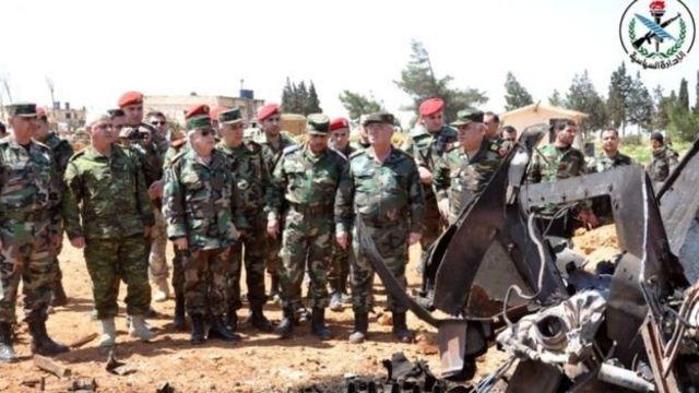 กองทัพซีเรียระบุว่า ความเสียหายที่ฐานทัพอากาศเมืองฮอมส์มีไม่มากดังที่สหรัฐฯกล่าวอ้าง