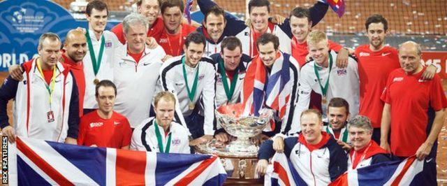 優勝した英国チーム