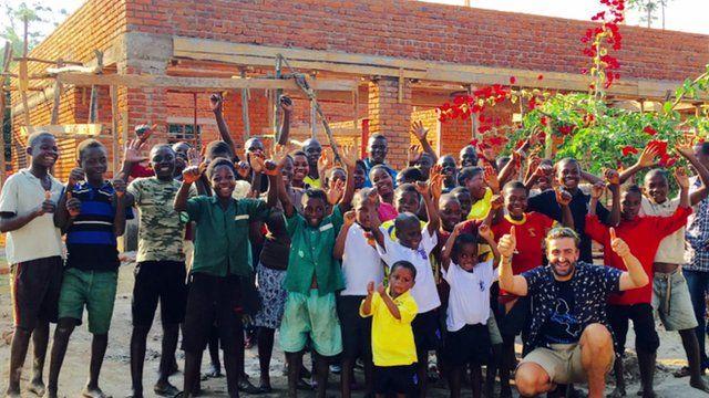 Brendan Rendall in Malawi