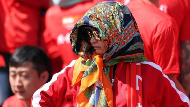 زنان طرفدار چین اجازه حضور در ورزشگاه آزادی را پیدا کردند