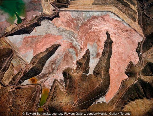2012年,美國亞利桑那州,克利夫頓,莫雷西露天銅礦#1:美國主要銅產區。