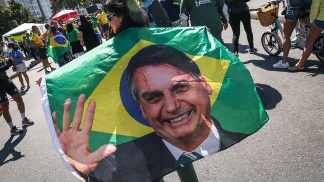 Protesto contra urna eletrônica no Rio de Janeiro