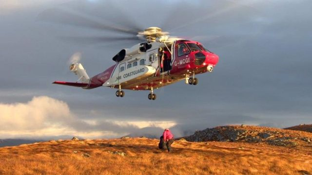 RAF Hercules in near-miss with coastguard helicopter in Highlands