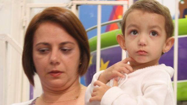 Fernanda e sua filha Manuela