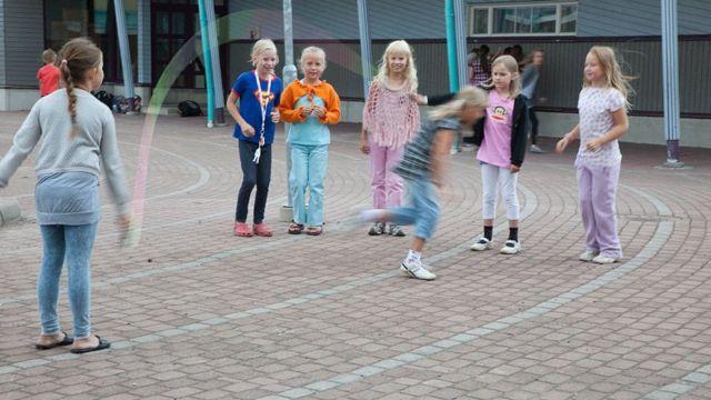 Niños finlandeses