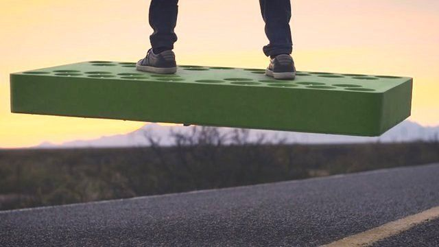 Space firm creates ArcaBoard - a 'real hoverboard'