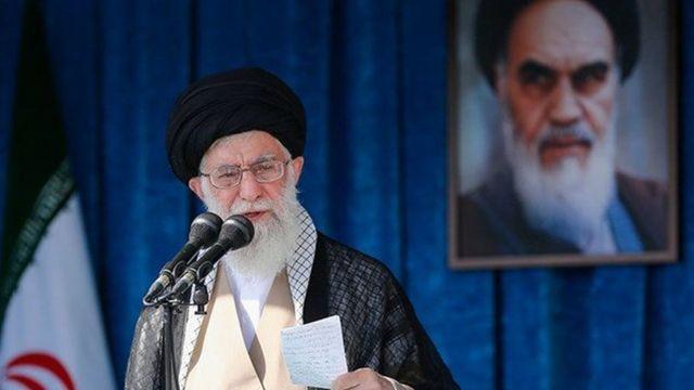 آیت الله علی خامنه رهبر ایران