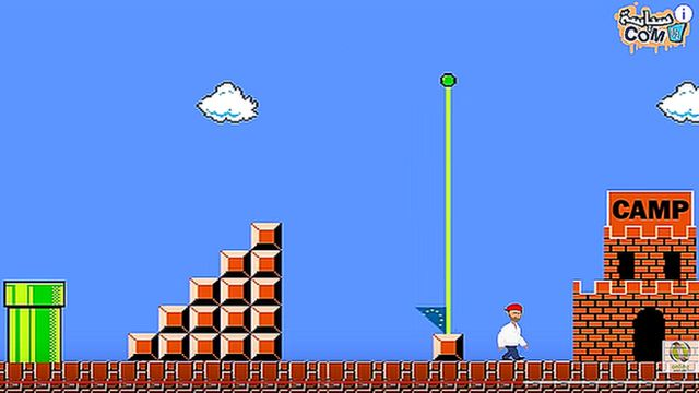 Screengrab from Refugee Mario