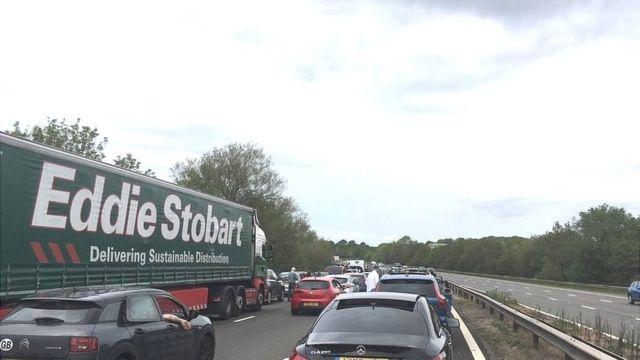 M6 crash: Delays between Stoke-on-Trent and Crewe
