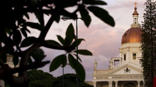Basílica de San Pedro, en Caracas.