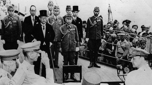 Japão se rende aos EUA em 1945