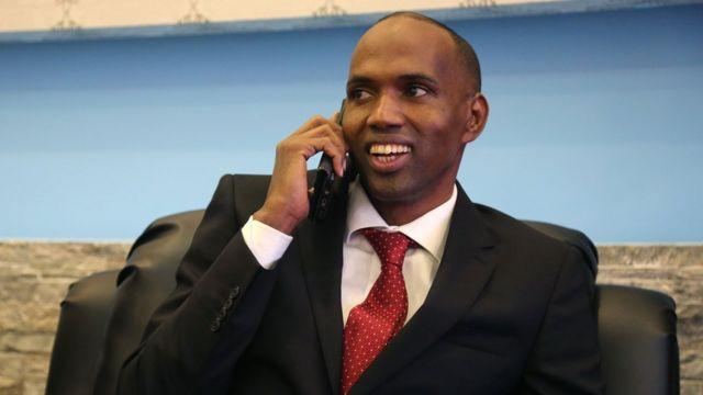 رئيس الوزراء الصومالي الجديد حسن علي خير