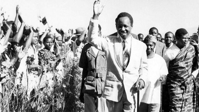 L'ancien président tanzanien Julius Kambarage Nyerere