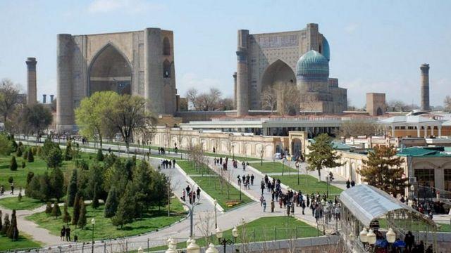 سمرقند، شهری تاریخی در ازبکستان