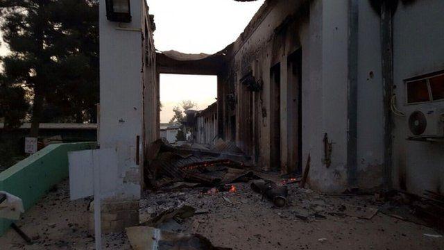 Medecins Sans Frontieres hospital in Kunduz