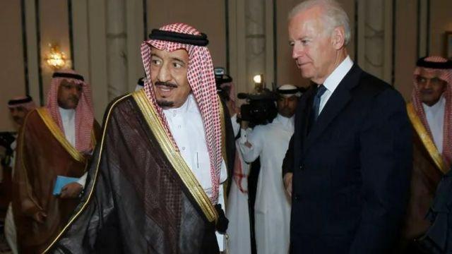 Selman bin Abdülaziz el-Suud ve Joe Biden