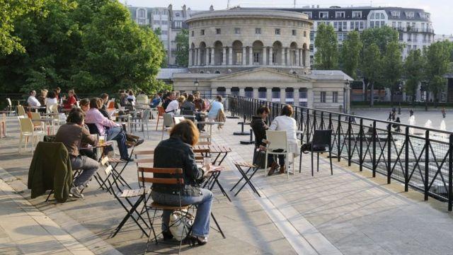 Terrazas en París