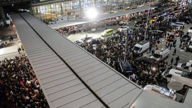 مطار جون إف كنيدي في نيويورك