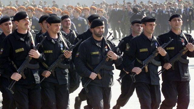 Чеченські силовики