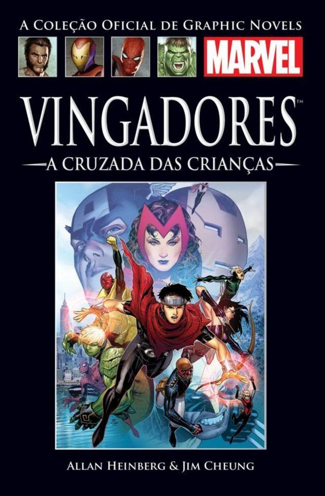 Capa do volume reunido dos quadrinhos A Cruzada das Crianças