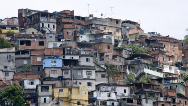 Vista da favela de Guararapes, em foto de arquivo