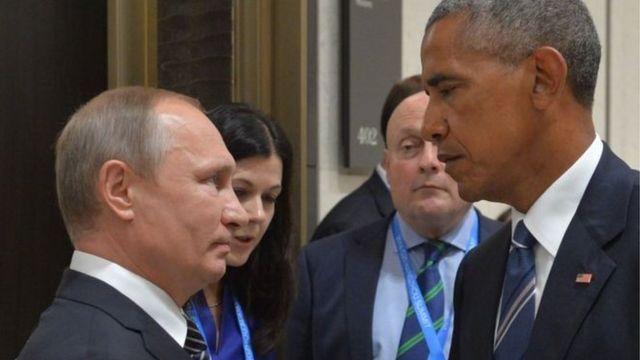 لم تكن العلاقات بين بوتين (إلى اليسار) وأوباما يسيرة قط