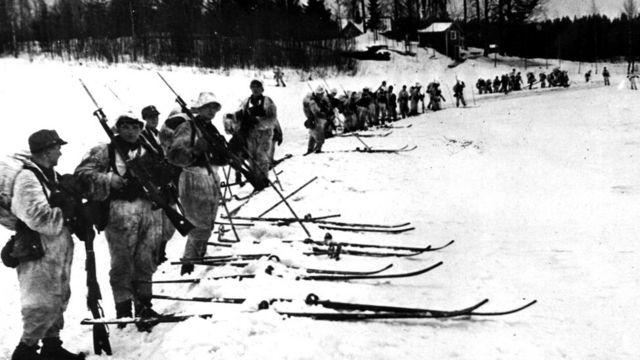 Во время Зимней войны советские войска по численности значительно превосходили финские