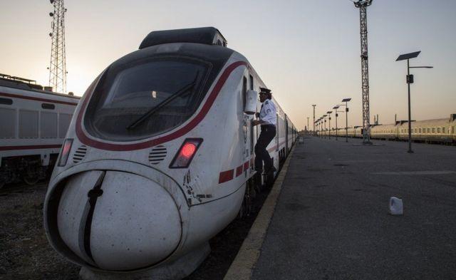 محقطة قطارات بغداد