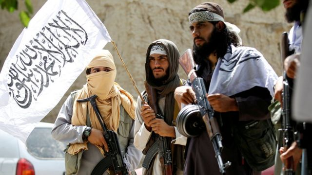 بعض مقاتلي طالبان