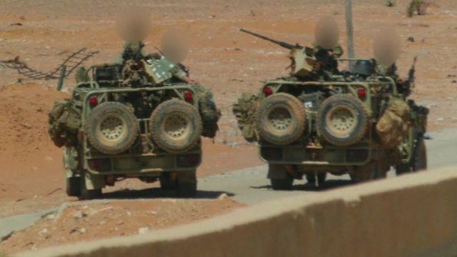 Британский спецназ в Сирии