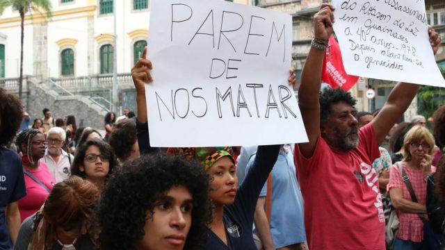 Ato pela morte de 9 jovens em Paraisópolis