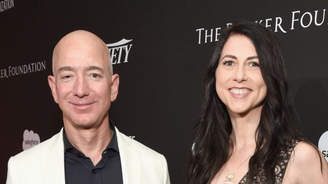 MacKenzie Bezos pledges to donate half her $37bn fortune